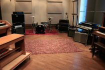 Recording Facilities: Chrome Attic has tracking rooms that are large, medium, and small. They have wood, cement, or metal surfaces. Every room is wired with microphone pockets, MIDI, speaker line, and video coax cable for online monitoring. We also provide guitars, basses, synthesizers, drums, cymbals, and other esoteric instruments. Contact us for the full equipment list.